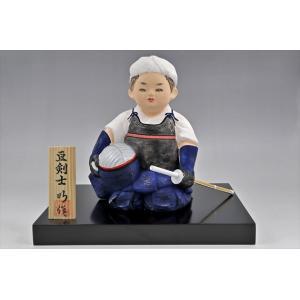 博多人形 【.豆剣士】 〜凛々しい姿で、夢いっぱい〜|hakata-honpo