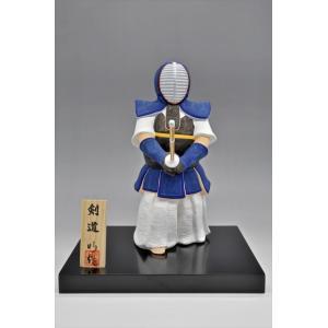 博多人形 【剣道】 日本人の魂「剣道」・・・大会の記念品に、また、お子様・お孫様に。|hakata-honpo