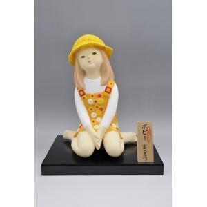 博多人形 【ポピー】 可愛らしい夏の少女|hakata-honpo