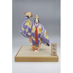 博多人形 【松風】 世界文化遺産「能」の世界|hakata-honpo