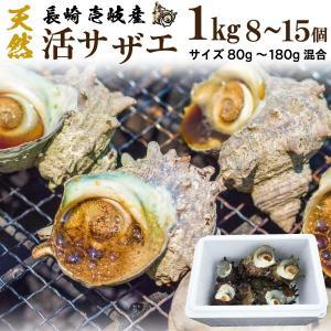 【商品詳細】 壱岐から直送するサザエは、京都の老舗料亭、神戸一流ホテル御用達の極上サザエ。 品質には...