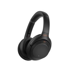 SONY ワイヤレスノイズキャンセリングステレオヘッドホン WH-1000XM3 ブラック