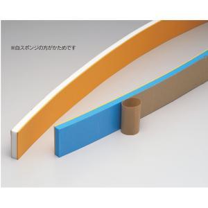 シーリング用品 コーキング ならしバッカー のり付 ゴムのり付バッカー付(青) 青スポンジ+オレンジゴム