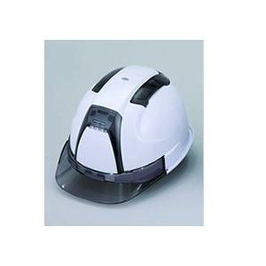 ヘルメット ヒサシ透明(ポリカーボネート製)・通気孔カバー付き 390F hakeya
