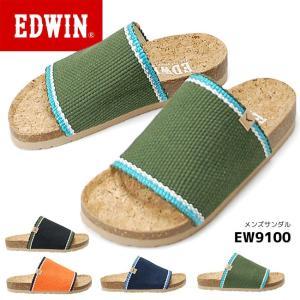 エドウィン メンズ フットベット サンダル EW9100 EDWIN 17SS05|hakimonohiroba