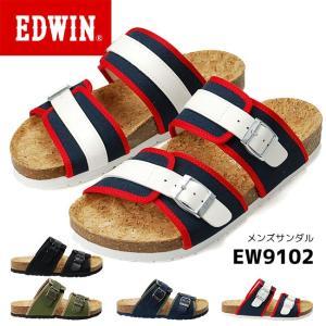 エドウィン メンズ フットベット サンダル EW9102 EDWIN 17SS05|hakimonohiroba