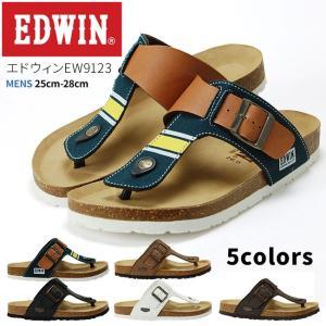 EDWIN エドウィン メンズ フットベットトングサンダル EW9123|hakimonohiroba