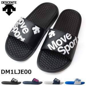 在庫限り デサント シャワーサンダル DM1LJE00 メンズ レディースサンダル DESCENTE ブラック ネイビー グレー ブルー 18SS05|hakimonohiroba
