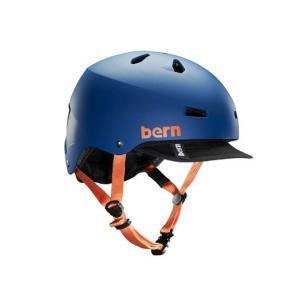 Bern/バーン ツバ付きヘルメット MACON VISOR/メイコンバイザー hakkle