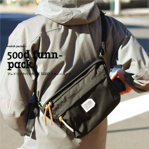 FREDRIK PACKERS/フレドリックパッカーズ ショルダーバッグ 500D FUNNY PACK hakkle