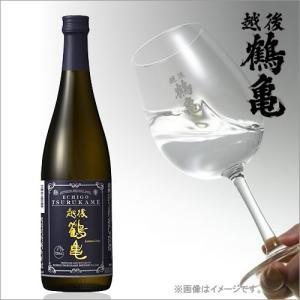 越後鶴亀 日本酒 ワイン酵母仕込み 純米吟醸 720ml|ギフト 新潟 お酒 プレゼント 蔵元直送 お歳暮