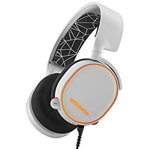 【国内正規品】密閉型 ゲーミングヘッドセット SteelSeries Arctis 5 White