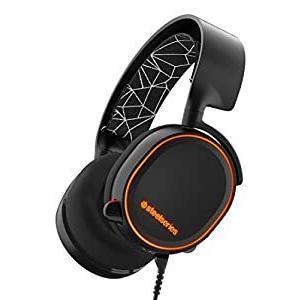 【国内正規品】密閉型 ゲーミングヘッドセット SteelSeries Arctis 5 Black