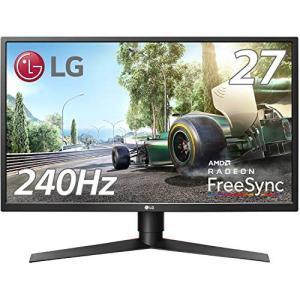 LG ゲーミングモニター ディスプレイ 27GK750F-B 27インチ/フルHD/TN非光沢