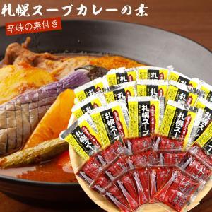 札幌 スープカレー の素 15食分 (送料無料 北海道 ソラチ(濃縮タイプ) 札幌 スープカレー 北...