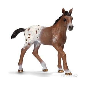 シュライヒ 13733 アパルーサ馬 ( 仔 ) 動物フィギュア|hakoniwa