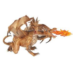 PAPO(パポ)38938 双頭ドラゴンgold   フィギュア hakoniwa