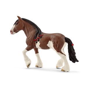 シュライヒ 13809 クライデスデール馬(メス)  動物フィギュア|hakoniwa