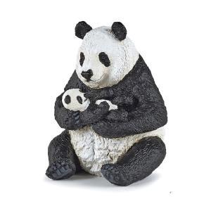 PAPO(パポ) 50196 パンダの親子(座)   動物フィギュア|hakoniwa