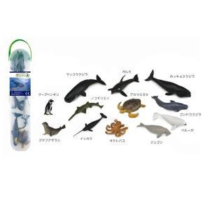 コレクタ/COLLECTA A1108 ミニシーアニマルBOX2 動物フィギュア|hakoniwa