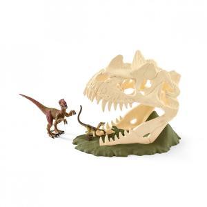 シュライヒ 42348 巨大恐竜の骸骨トラップ 恐竜フィギュア|hakoniwa