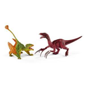 シュライヒ 41425 ディモルフォドンとテリジノサウルス(小) 恐竜フィギュア|hakoniwa