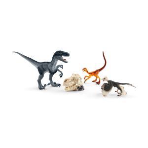 シュライヒ 72128 ラプトルセット(ハンティング) 恐竜フィギュア|hakoniwa