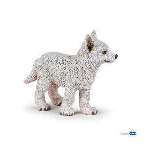 PAPO(パポ) 50228 ホッキョクオオカミの子ども  動物フィギュア|hakoniwa