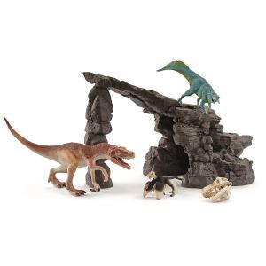 シュライヒ 41461 恐竜たちの洞窟プレイセット 恐竜フィギュア|hakoniwa