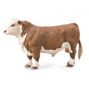 コレクタ/COLLECTA 88861 ヘレフォード牛(オス)   動物フィギュア hakoniwa