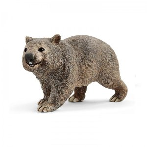 シュライヒ 14834 ウォンバット  動物フィギュア|hakoniwa
