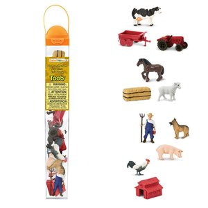 Safari (サファリ)682604 農場 チューブ 動物フィギュア hakoniwa