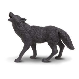 Safari (サファリ)181129 クロオオカミ 動物フィギュア|hakoniwa