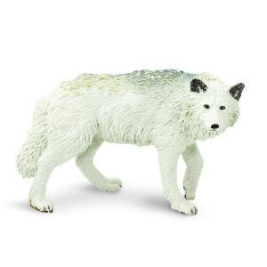 Safari (サファリ)220029 ホワイトウルフ 動物フィギュア|hakoniwa