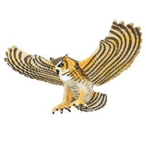 Safari (サファリ)264429 アメリカワシミミズク 動物フィギュア|hakoniwa