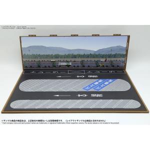 ジオラマシートG250 1/64 駅前&SA/PAセットA ベース・背景 (728x500x250)