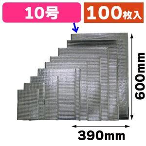 (厚さ2mmアルミ保冷袋)保冷バック 10号/100枚入(35-31)|hakonomise