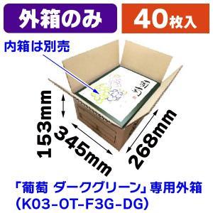 (宅配用外箱)宅急OT-F3 茶/40枚入(K03-TKOT-F3)|hakonomise