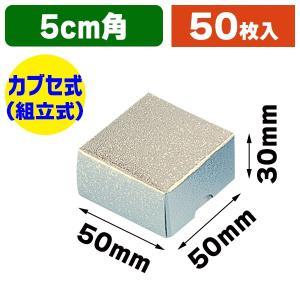 (ギフトボックス)洋品箱 A-1 アクセサリー用 S 銀/50枚入(K05-4901755702019)|hakonomise