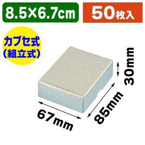 (ギフトボックス)洋品箱 A-2 アクセサリー用 L 銀/50枚入(K05-4901755702026)|hakonomise