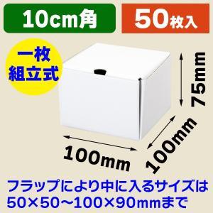 (小型段ボール箱)ブルームBOX BM-80/50枚入(K05-4901755723977)|hakonomise