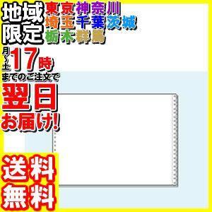 コンピュータ連続用紙 15×11白紙2枚複写 1000セット|hakourisenka
