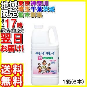 ライオン/キレイキレイ薬用泡ハンドソープ2L×6本|hakourisenka