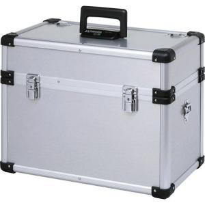 ハクバ カメラケース 純国産 フタに取外し可能な小物入れ付き、角のないアルミケース ZX-85 4977187213263 HAKUBA|hakuba