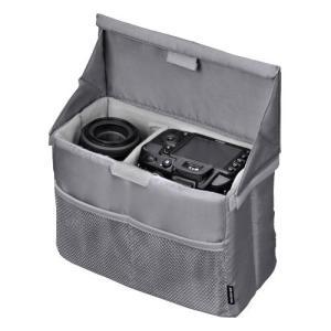 【アウトレット 訳あり特価】ハクバ カメラバッグ フォールディングインナーソフトボックス D グレー KCS-38DGY 4977187336634 HAKUBA