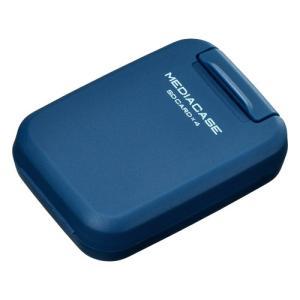 ハクバ メディアを安心 保護「ポータブルメディアケース S」 SD/MicroSDカード用 スチールブルー DMC-20SSDBL 4977187371277 HAKUBA|hakuba