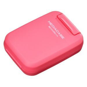 ハクバ メディアを安心 保護「ポータブルメディアケース S」 SD/MicroSDカード用 チェリーピンク DMC-20SSDPK 4977187371291 HAKUBA|hakuba