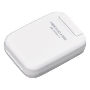 ハクバ メディアを安心 保護「ポータブルメディアケース S」 SD/MicroSDカード用 ホワイト DMC-20SSDWT 4977187371314 HAKUBA|hakuba