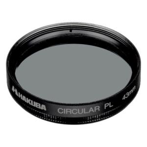 ハクバ サーキュラーPL フィルター径:43mm ブラック CF-CPL43D 4977187437...