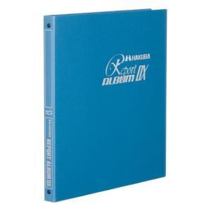 ハクバ フォトアルバム レポートアルバムDX 写真サイズ:キャビネ判 ブルー 4977187520118 HAKUBA hakuba